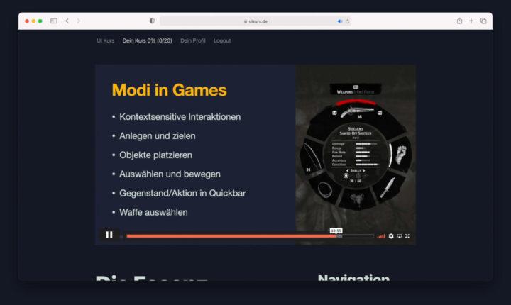 """Modi in Games aus """"Non-Modalität"""""""